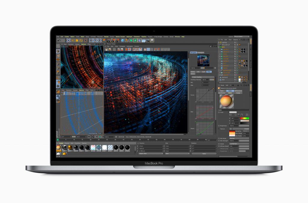 Ein MacBook Pro im professionellen Einsatz.